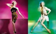 O moldoveanca a pozat pentru Vogue Portugalia! GALERIE FOTO