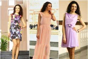 Colectie noua de imbracaminte by Mallena la Cristina Stil! Fii feminina in haine colorate si comode