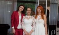 Alb, negru si rosu! Cum s-au imbracat invitatii la prezentarea de moda marca Perfecte - FOTO