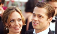 Angelina Jolie si Brad Pitt s-au asortat in tinute ALL BLACK la un eveniment din Londra - FOTO