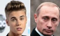 Nici n-ai fi banuit ca au atatea lucruri in comun! Ce ii uneste pe Putin si Justin Bieber - FOTO