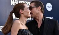 Angelina Jolie, intr-o rochie lunga de piele la premiera mondiala