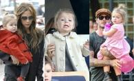 Este o mica fashionista! 20 tinute adorabile ale micutei Harper Beckham - FOTO