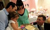 Nepoata lui Traian Basescu a implinit un an! Ce a ales fiica de pe tavita cu obiecte - FOTO