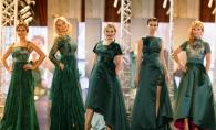 Verde smarald - culoarea vedeta in colectia lui Evgheni Hudorojcov la Fashion Walk 2014 - VIDEO/FOTO