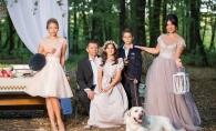 Poze de colectie. Uite ce familie frumoasa are cantareata Larisa Busuioc - FOTO
