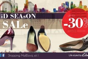 Renumitul brand britanic, Clarks, anunta lansarea MID SEASON 2014 cu reduceri de pana la 30%