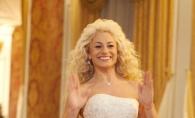"""Natalia Gordienko, gingasa si rafinata intr-o rochie de mireasa a salonului """"Doua inimi"""" - VIDEO"""