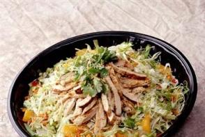 Salata chinezeasca cu sos alb