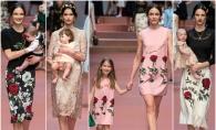 Dolce & Gabbana a sarbatorit mama, in prima zi de primavara. Vezi colectia inedita - FOTO