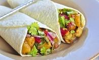 Burritos vegetarian, un deliciu in zilele de post