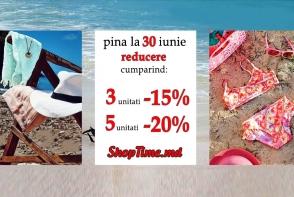 Super oferta de la ShopTime.md: cumpara 3 articole si ai reducere de -15%, iar la 5 articole -20%