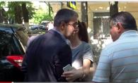 Deputatul Sergiu Sirbu, injurat de un sofer in plina strada: