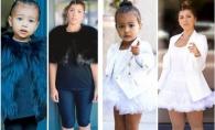 Experiment inedit! O femeie s-a imbracat, timp de o saptamana, ca fiica lui Kim Kardashian - FOTO