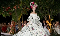 Colectia Alta Moda, de la Dolce & Gabbana: Creatii impresionante, inspirate din basmele cu printese