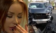 Bianca Dragusanu a suferit un accident de masina! Un autoturism a lovit-o in plin - FOTO