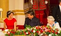 O printesa adevarata! Vezi cat de stralucitoare a fost Kate Middleton la un banchet regal