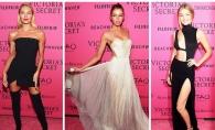 Tinute incredibil de sexy pentru modelele Victoria's Secret dupa ce au coborat de pe podium. Ce au purtat la after party - FOTO