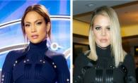Jennifer Lopez si Khloe Kardashian, in aceeasi rochie. Cui ii sta mai bine?