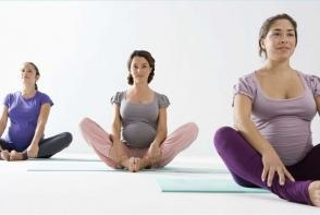 Sportul in perioada sarcinii. Vezi 5 exercitii usoare de stretching