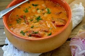 Supa de fasole boabe condimentata