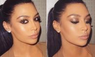 Kim Kardashian sau...nu? Faceti cunostinta cu tanara care chiar seamana perfect cu vedeta - FOTO