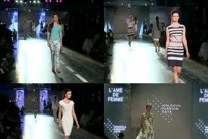 Piese vestimentare feminine si elegante oferite de brandul L' ame de Femme. Vezi colectia care a atras toate privirile la Moldova Fashion Days - VIDEO