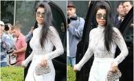 Nu s-au dezis nici anul acesta. Familia Kardashian, parada modei la slujba de Paste. Cum s-au imbracat la biserica