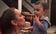 Anna Lesko vorbeste cu fiul sau numai in limba rusa! Iata motivul pentru care face asta - FOTO