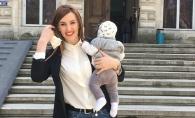 Tatiana Heghea, intr-un selfie adorabil alaturi de fetita sa. Vezi cu cine seamana micuta - FOTO