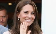 Kate Middleton a trecut la pantofi comozi? Vezi cum s-a incaltat Ducesa la cea mai recenta vizita oficiala - FOTO