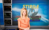 Tatiana Nastas, frumoasa blonda care va prezenta Stirile Pro TV din weekend:
