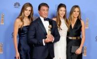 Fiica lui Sylvester Stallone este o adevarata domnisoara sexy! Cum a aparut pe covorul rosu de la Venetia - FOTO