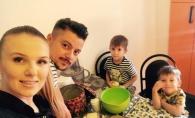 Acasa la familia Manciu. Cunoaste-l pe Vladimir, cel mai mic membru al familiei, care a implinit abia 3 luni - VIDEO