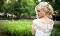 Irina Bivol, in rochie de mireasa. Iata cat de bine arata in tinute romantice si feminine - FOTO