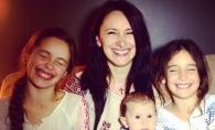 Nata Albot, intr-o poza emotionanta alaturi de fiicele sale. Vezi cat de mari s-au facut acestea - FOTO