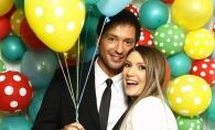 Au plans de emotie la botezul lui! Adela Popescu si Radu Valcan au organizat o petrecere colorata pentru micut - GALERIE FOTO