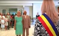 Jumatate de secol de iubire. Parintii fotbalistului Radu Rebeja si-au jucat nunta de aur - VIDEO