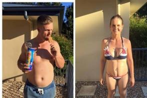 Doi antrenori de fitness s-au ingrasat cate 15 kilograme fiecare pentru a vedea cat de usor pot slabi. Vezi intregul experiment