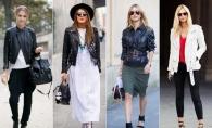 7 moduri stilate de a purta jacheta din piele toamna aceasta