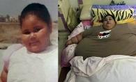 Cand s-a nascut avea 5 kilograme, iar la 36 de ani cantareste 500! Este trist ce i s-a intamplat celei mai grase femei din lume - FOTO