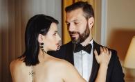 Marco si Diana Ballerini, intr-o sedinta foto plina de pasiune! In tinute elegante si un decor corespunzator, cei doi si-au aruncat priviri pline cu subinteles - FOTO