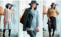 Palarii, pulovere si fuste midi, in noua colectie Florence Style: completeaza-ti garderoba cu tinute perfecte pentru sezonul rece