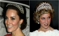 Ducesa de Cambridge, aparitie senzationala la un eveniment. Iata cat de bine o prinde tiara Printesei Diana - FOTO