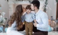 Vasile Macovei, imagini de poveste alaturi de familie. Isi saruta cu pasiune sotia - FOTO