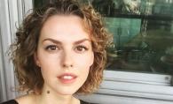 Fiica actorului Gheorghe Grau, senzuala si plina de erotism. Leanka Grau s-a dezgolit pentru o revista - FOTO