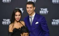 Ronaldo, aparitie impecabila alaturi de iubita si fiul sau. Vezi cu ce a atras atentia iubita fotbalistului - FOTO