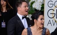 Si-a pozat sotia printre cearsafuri si a postat imaginea pe Instagram. Channig Tatum a surprins-o goala - FOTO