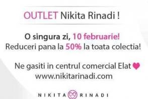 Tinutele Nikita Rinadi, la preturi reduse cu pana la 50%! Pe 10 februarie, profita de oferta unica