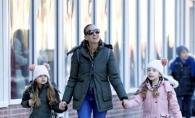 Gemenele actritei Sarah Jessica Parker, adorabile la o plimbare cu mama lor. Sunt cele mai stilate fetite din New York - FOTO